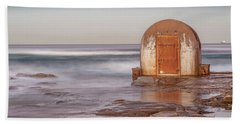 Beach Towel featuring the photograph Weathered In Time by Az Jackson