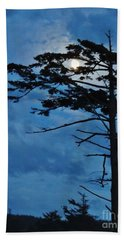 Weathered Moon Tree Beach Sheet by Michele Penner
