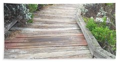 Weathered Path Beach Towel