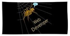 Web Developer Beach Towel