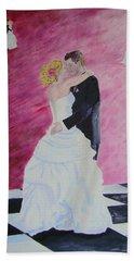 Wedding Dance Beach Towel by Lisa Rose Musselwhite