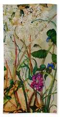 Weeds Beach Towel