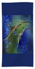 Weedy Sea Dragon Beach Sheet by Thanh Thuy Nguyen