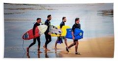 Weekend Warriors Beach Towel by Wallaroo Images