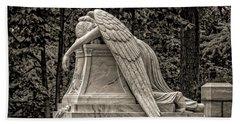 Weeping Angel - Sepia Beach Towel