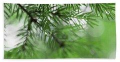 Weeping Pine 2 Beach Sheet
