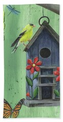 Welcome Goldfinch Beach Towel