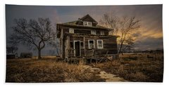 Beach Towel featuring the photograph Welcome Home by Aaron J Groen