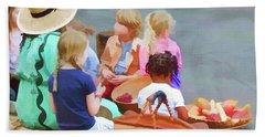 Welcome The Children Beach Sheet