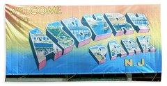 Welcome To Asbury Park Beach Sheet