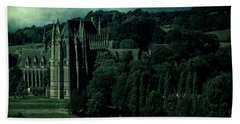 Beach Towel featuring the photograph Welcome To Wizardry School by Chris Lord