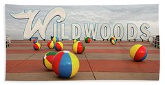 Welcome To The Wildwoods Beach Towel