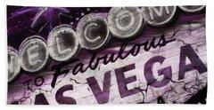 Vegas Baby Beach Towel by Dani Abbott
