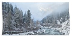 Wenatchee River Beach Towel
