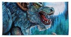 Werewolf Beach Towel