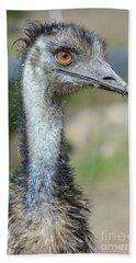 Emu 2 Beach Towel by Werner Padarin
