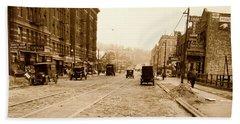West 207th Street, 1928 Beach Towel