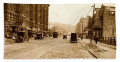 West 207th Street, 1928 Beach Towel