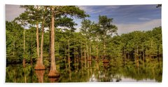 West Monroe Bayou Beach Towel