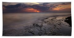 West Oahu Sunset Beach Towel