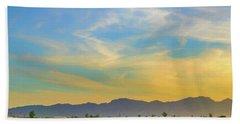 West Phoenix Sunset Digital Art Beach Sheet
