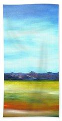 West Texas Landscape Beach Towel