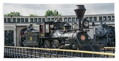 Western And Atlantic 4-4-0 Steam Locomotive Beach Sheet