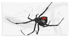 Western Black Widow - Color Beach Towel