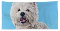 Westie Beach Towel