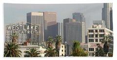 Westlake, Los Angeles Beach Towel