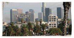 Westlake Theatre To Downtown La Beach Towel