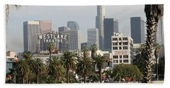 Westlake Theatre To Downtown La Beach Sheet