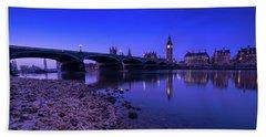 Beach Sheet featuring the photograph Westminster Bridge London by Mariusz Czajkowski