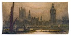 Westminster London 1920 Beach Towel