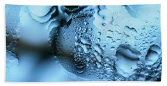 Beach Sheet featuring the photograph Wet Mirror Abstract by Jenny Rainbow
