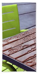 Wet Table Beach Towel by Christopher McKenzie