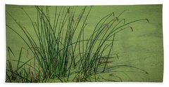 Wetland Marsh Beach Towel by Ray Congrove
