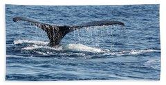 Whale Tail Beach Towel