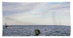 Whale Watching In Canada Beach Sheet
