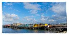 Wharf And Beach Beach Sheet