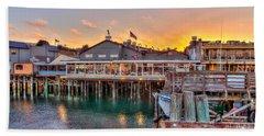 Wharf Dining Beach Sheet