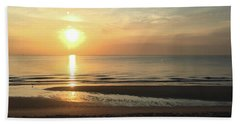 What A View Sunrise Beach Towel