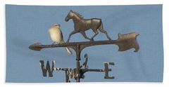 What Did You Say Beach Towel by Donna Brown