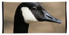 Canadian Goose Beach Towel