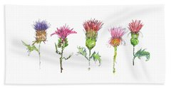 What Is It About A Thistle Fl006 Beach Towel