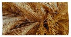 Wheat In The Sunset Beach Sheet
