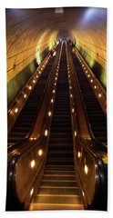 Wheaton Escalator Beach Towel