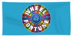 Wheel Of Fortune T-shirt Beach Towel