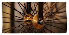 Wheel Spokes  Beach Towel