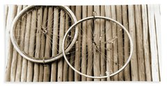 Wheels On Bamboo Beach Towel